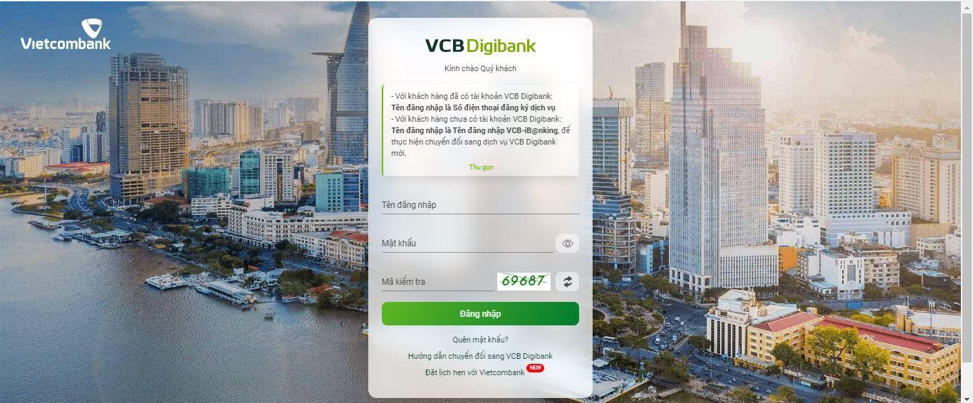 Chuyển tiền nhanh 24/7 từ Vietcombank sang ngân hàng khác 6