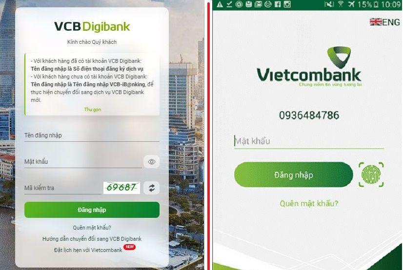 Cách chuyển tiền Vietcombank online đơn giản