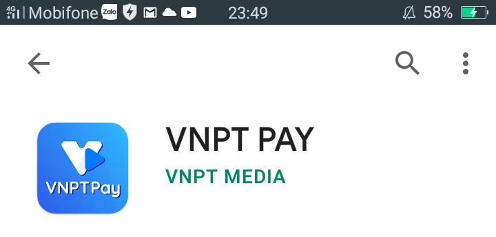 Nạp thẻ Vinaphone cho thuê bao khác qua App 1