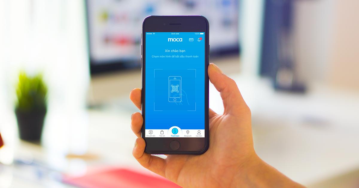 Ví điện tử Moca với chức năng chuyển tiền mobile