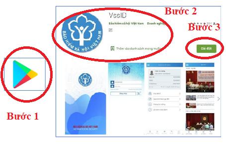 Tra bảo hiểm xã hội trực tuyến bằng điện thoại chỉ với ứng dụng VssID hệ điều hanh Android