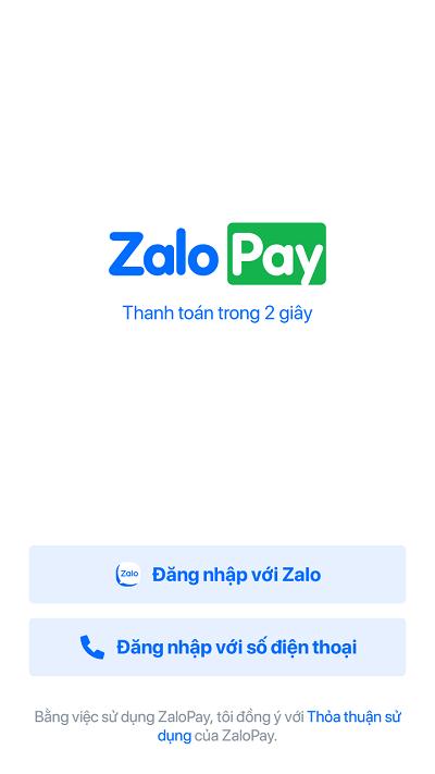 Nạp tiền Viettel qua ví điện tử Zalo Pay