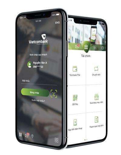 Ứng dụng chuyển tiền mobile Vietcombank