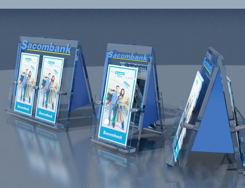 Vay tín chấp ngân hàng Sacombank - Money24h
