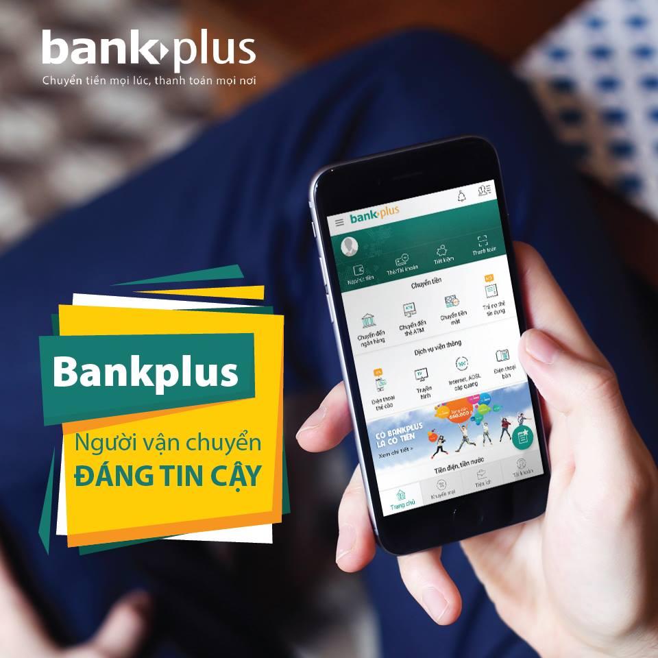Ứng dụng chuyển tiền Bankplus