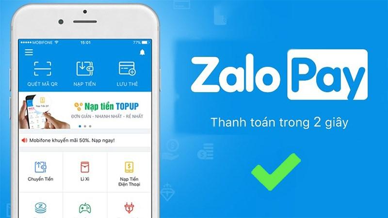 Nạp thẻ Vinaphone thông qua ví điện tử Zalo Pay - Money24h