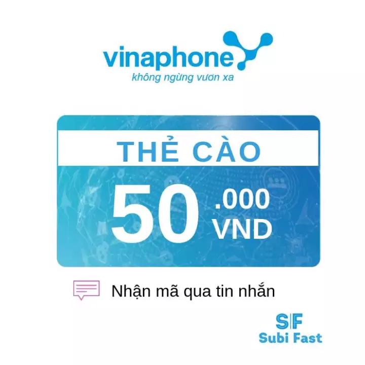 Nạp thẻ Vinaphone trả sau bằng thẻ cào điện thoại