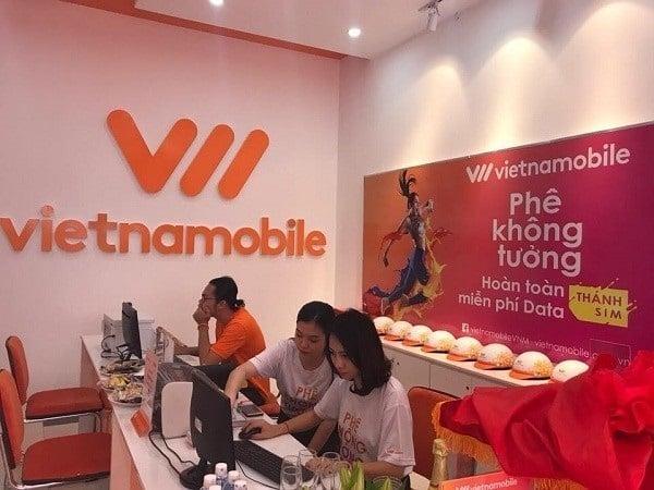 Mua thẻ Vietnamobile ở đại lý thẻ