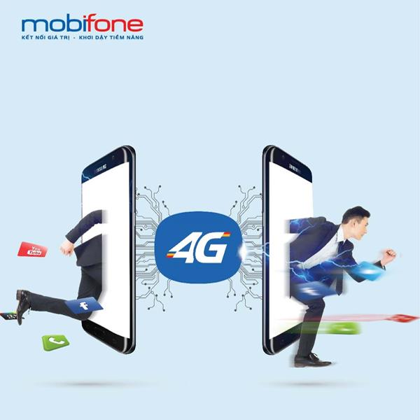 Các gói 3G, 4G Mobifone ưu đãi