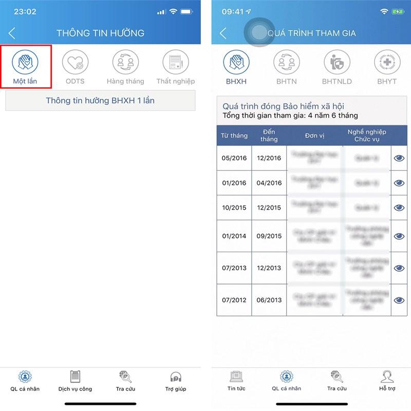 Tra cứu cách tính bảo hiểm xã hội 1 lần bằng app tính bảo hiểm xã hội VssID