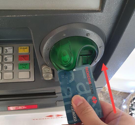 Chuyển tiền khác ngân hàng tại cây ATM 1