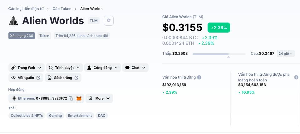 Chơi game Alien Worlds (TLM) có kiếm tiền được không hay lừa đảo? - Money24h