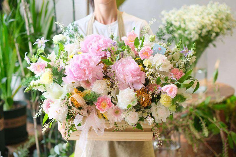 làm giàu tại nhà với shop hoa