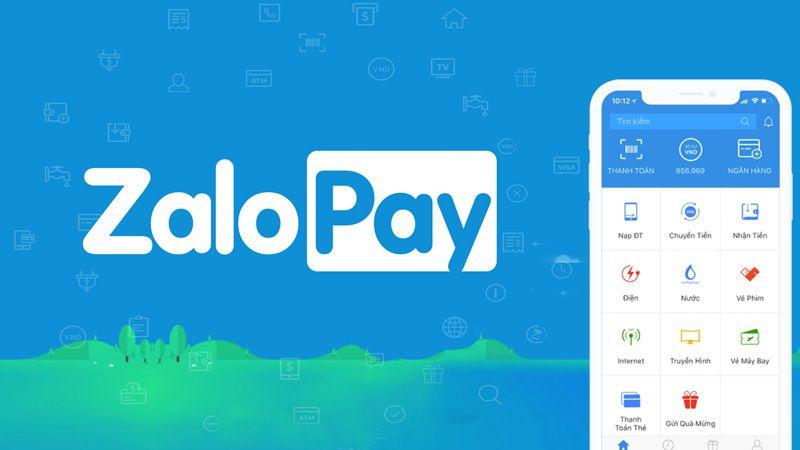 Thanh toán tiền điện qua ví điện tử Zalo Pay