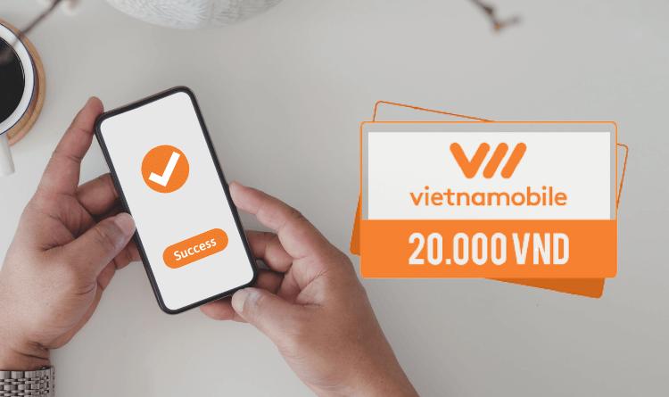 cách nạp thẻ vietnamobile thành công
