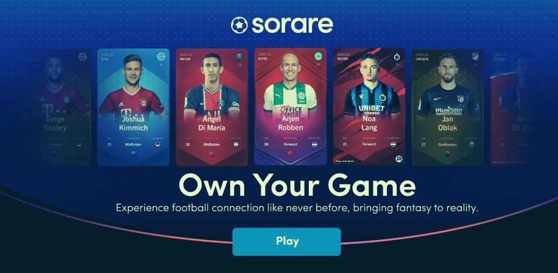 Game NFT Sorare bị nghi ngờ là cờ bạc trá hình - Money24h